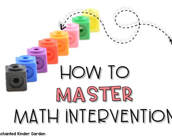 How I master math intervention