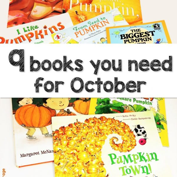9 Books You Need for October