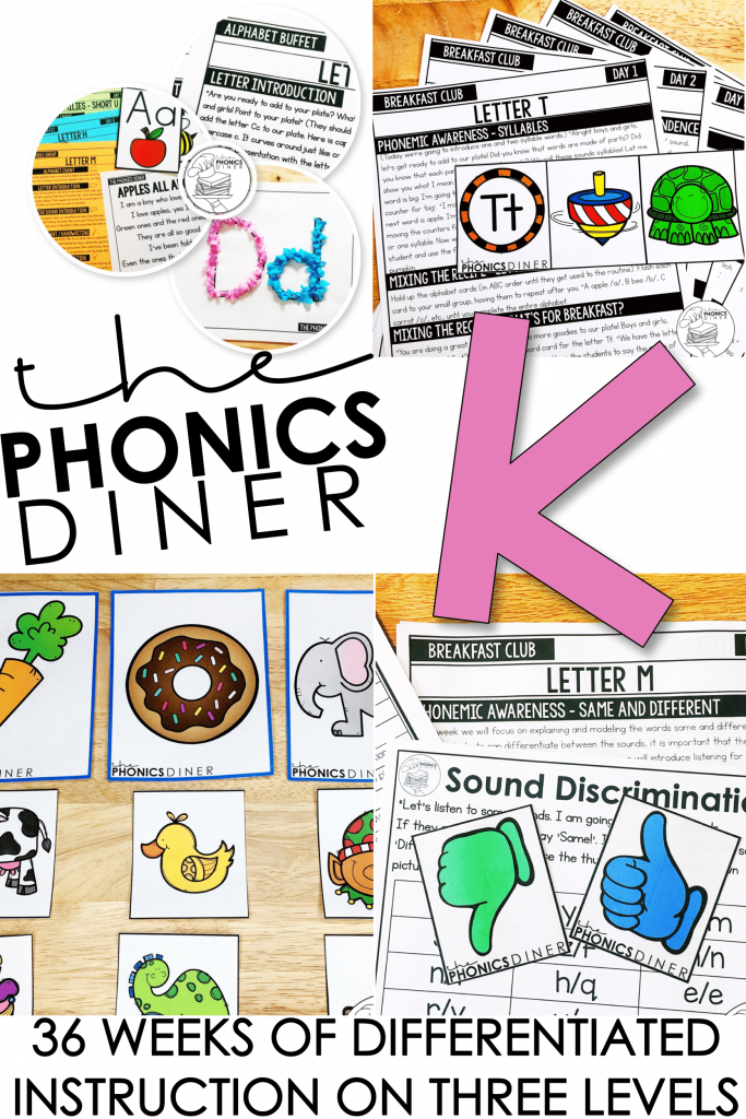 Reading small group planned for the year for you with The Phonics Diner