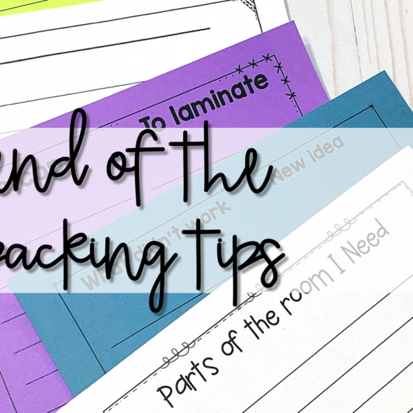 End of the Year Packing Tips