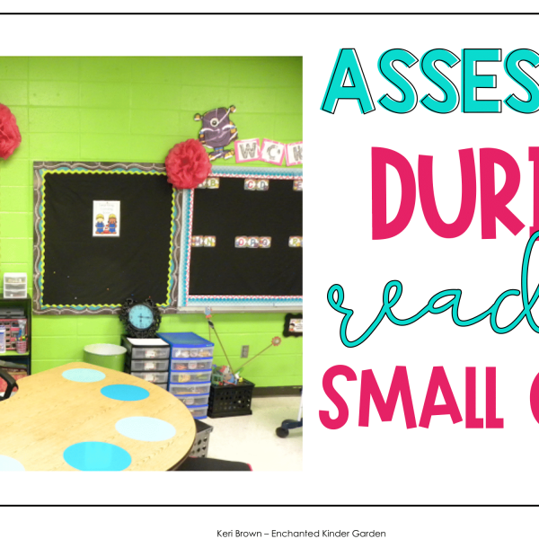 Assessing during Reading Small Groups