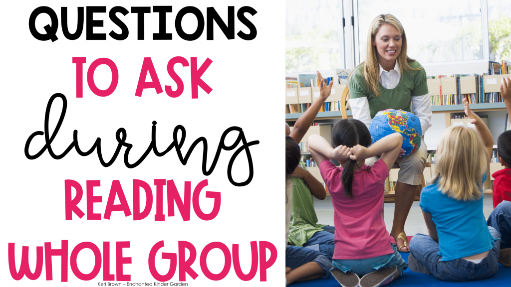 Reading Questions for Before, After and During Reading