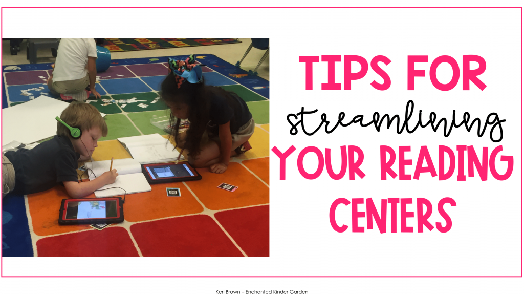 Streamling your reading centers with ease