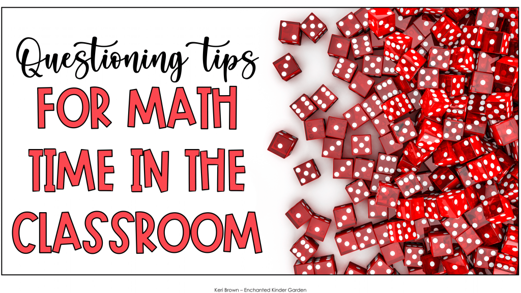 Questioning tips for math time