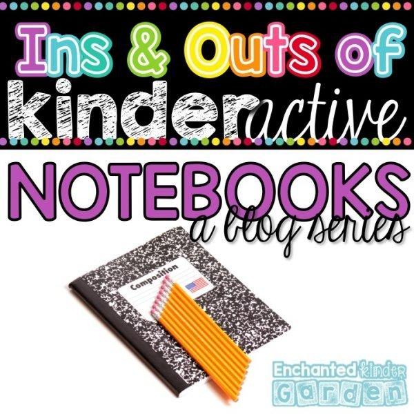 Kindergarten Interactive Notebooks