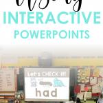 Interactive PowerPoints